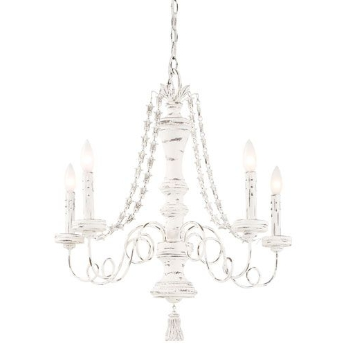 Shabby Chic Chandeliers: 10 Ways To Light Up Your Life Pertaining To Widely Used Country Chic Chandelier (View 10 of 10)