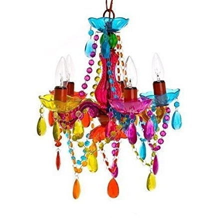 Small Gypsy Chandeliers In Newest Gypsy Chandelier Pendant Ceiling Light – Multi Coloured Small (View 4 of 10)