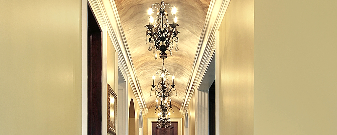Small Hallway Chandeliers Within Most Recent How High To Hang Your Lighting With Regard Attractive Home Small (View 4 of 10)