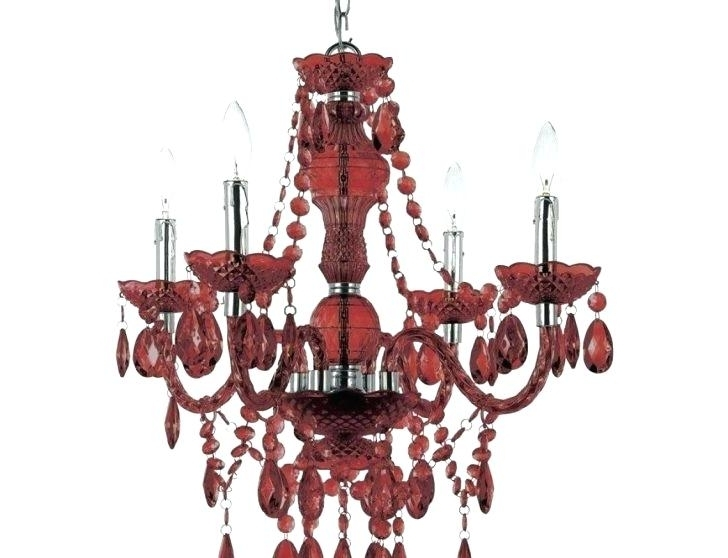 Small Red Chandelier Small Red Chandelier Glass Engaging Model Of With Regard To Trendy Small Red Chandelier (View 6 of 10)