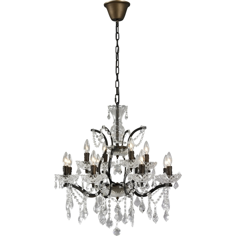 Small Rustic Chandelier Amazing Rustic Chandeliers With Crystals 59 Inside Preferred Small Rustic Crystal Chandeliers (View 2 of 10)