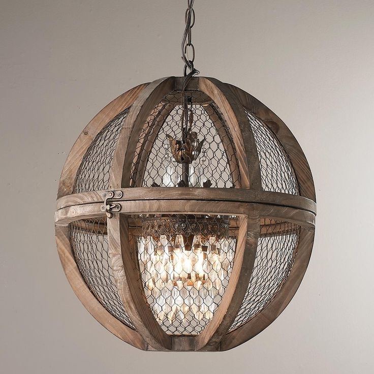 Small Rustic Chandeliers For Most Popular Rustic Wood Iron Chandelier – Closdurocnoir (View 8 of 10)