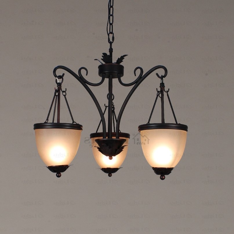 Small Shabby Chic Chandelier For Fashionable Shabby Chic 3 Light Hanging Cheap Small Chandeliers (View 8 of 10)