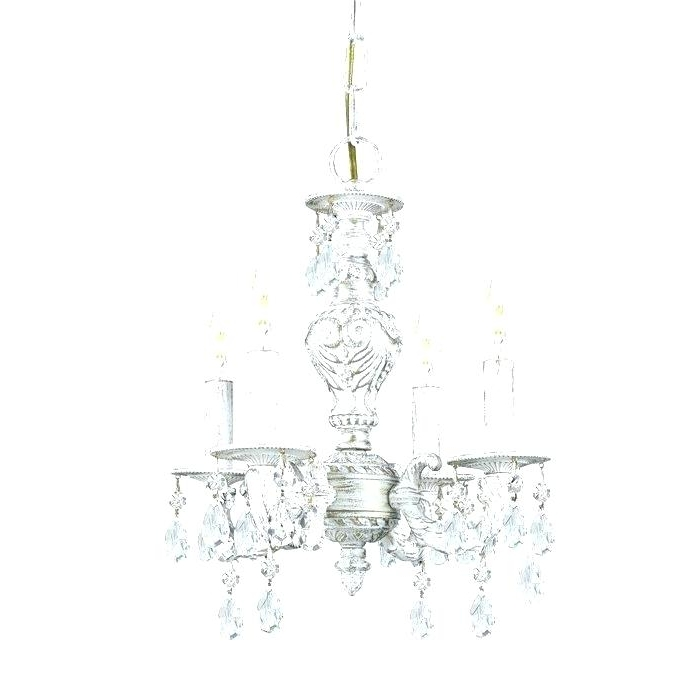 Small Shabby Chic Chandelier – Pickasound (View 6 of 10)