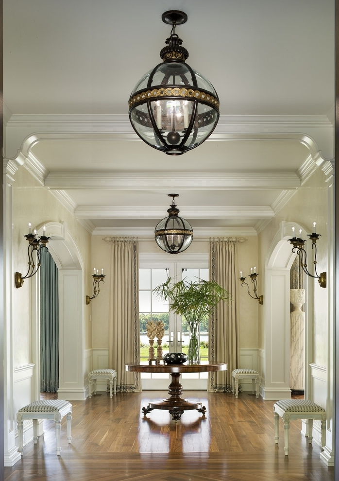 So Easy Transform Your Space With These Lighting Tricks From For Pertaining To Recent Small Hallway Chandeliers (View 3 of 10)
