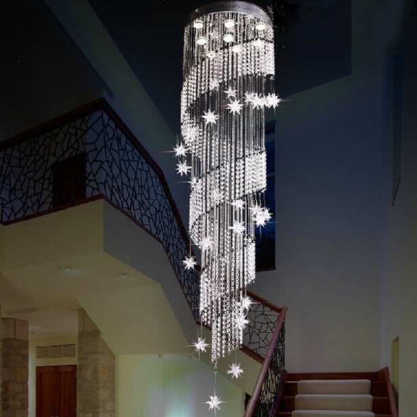 Stairway Chandelier Inside Recent 10 Most Popular Light For Stairways Ideas, Let's Take A Look (View 5 of 10)