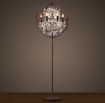 Standing Chandelier Floor Lamp (View 2 of 10)