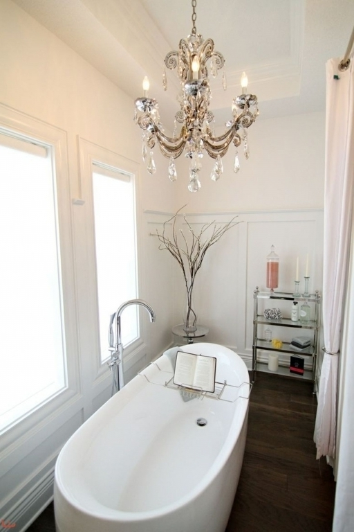Stunning Chandelier Bathroom Lighting Bathroom Chandelier Lighting Regarding Widely Used Chandelier Bathroom Lighting (View 3 of 10)
