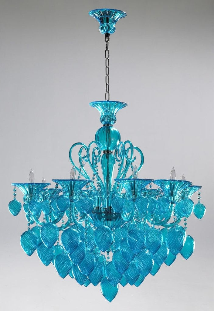 Teal Chandelier Light – Buzzmark With Regard To Well Known Turquoise Chandelier Lights (View 6 of 10)