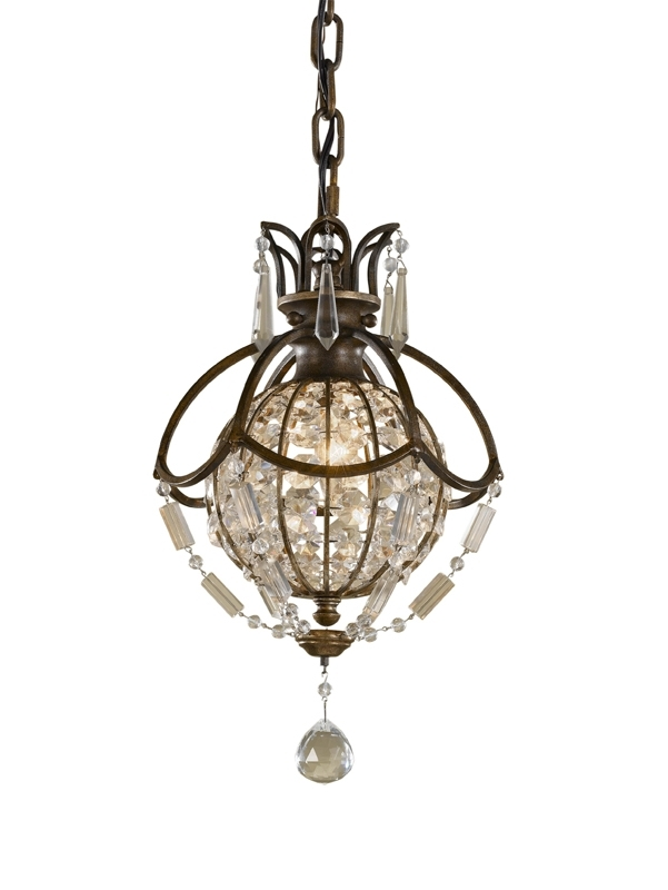 The Aquaria In Famous Small Bronze Chandelier (View 10 of 10)