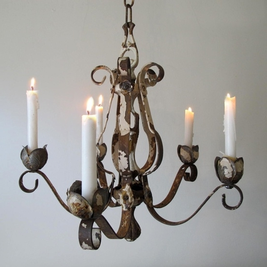 The Beauty Of Candle Chandelier Pertaining To Well Liked Candle Chandelier (View 6 of 10)