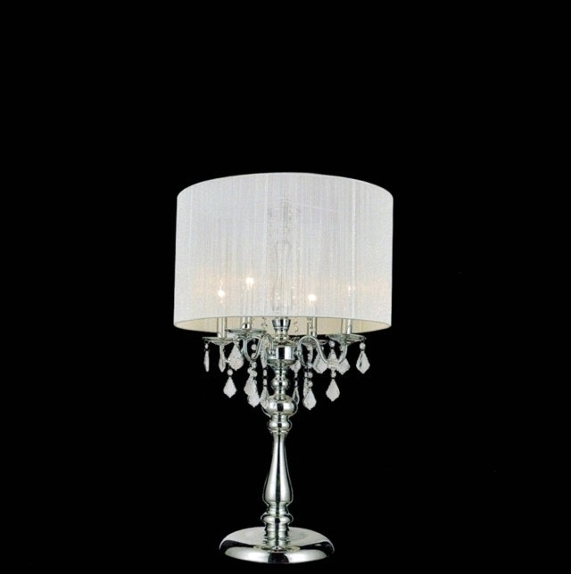 Trendy Chandelier Night Stand Lamp And Lovable Crystal Table Lamps Stacked Intended For Chandelier Night Stand Lamps (View 9 of 10)