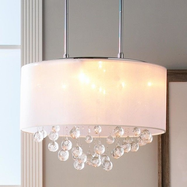 Trendy Crystal Ceiling Light Shades (View 9 of 10)