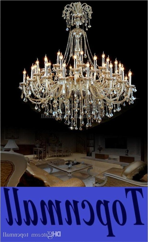 Trendy Huge Crystal Chandelier For Vintage Extra Large Crystal Chandelier Entryway Antique Huge French (View 9 of 10)