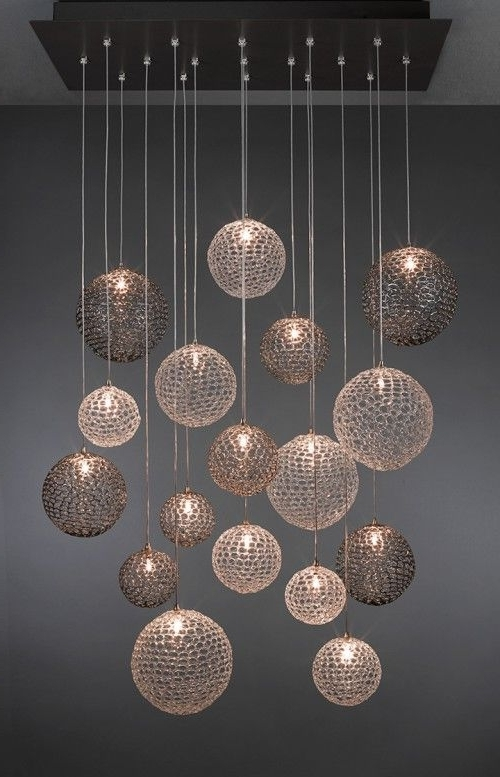 Trendy Modern Pendant Chandelier Lighting Intended For Top Modern Suspension Lamps (View 3 of 10)