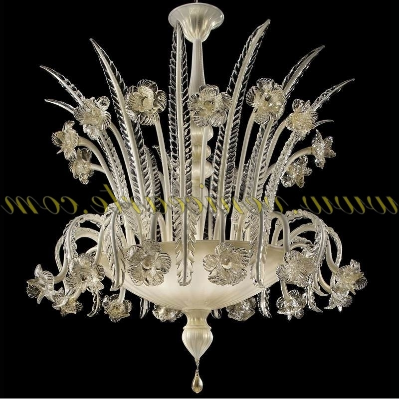 Trendy Murano Chandelier Pertaining To Vienna – Murano Glass Chandelier (View 5 of 10)