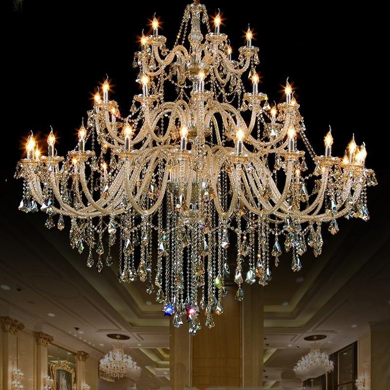 Trendy New Design Georgian Style Big Crystal Chandelier Lighting With In Georgian Chandelier (View 10 of 10)