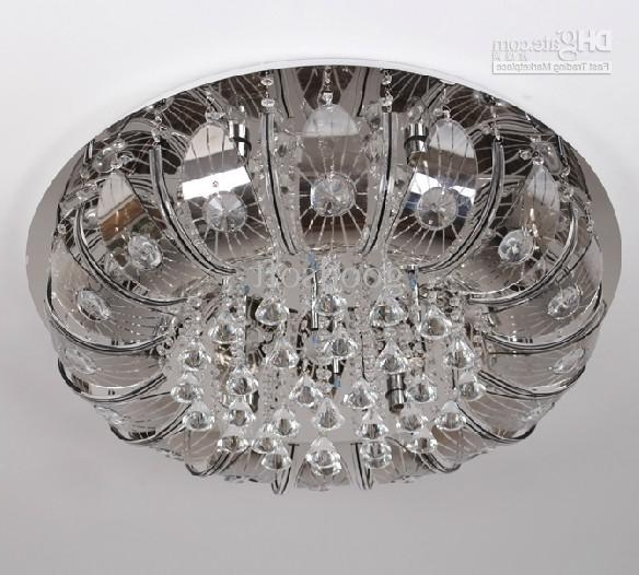 Trendy Remote Controlled Chandelier In Discount Modern Stylish K9 Crystal Ceiling Lamp Crystal Chandelier (View 8 of 10)