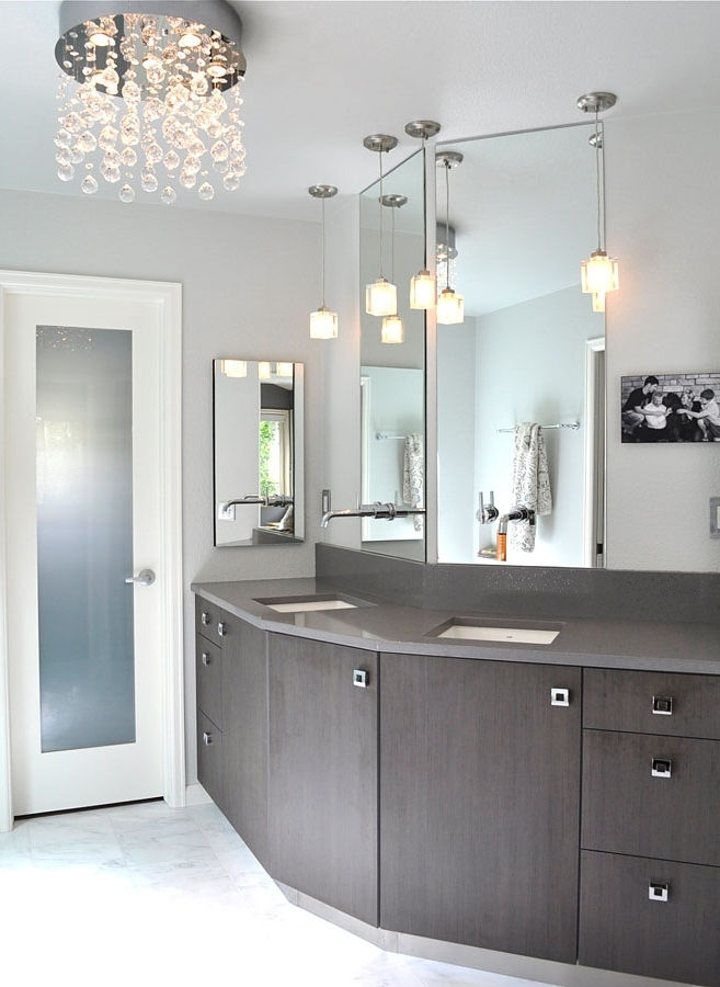 Trendy Small Bathroom Crystal Chandeliers (View 8 of 10)