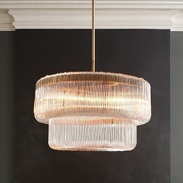Trendy Waterfall Chandelier #westelm (View 6 of 10)