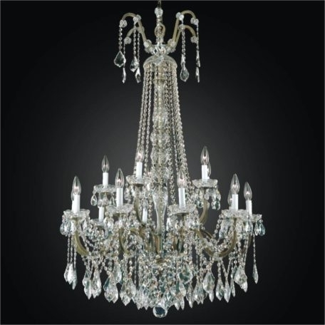 Trendy Wrought Iron Foyer Chandeliers – Large Crystal Chandelier (View 9 of 10)