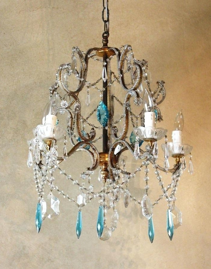 Turquoise Beads Six Light Chandeliers For Latest Turquoise Beads Six Light Chandelier – Tipsplus (Gallery 9 of 10)