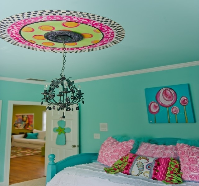 Turquoise Bedroom Chandeliers With Well Known Bedroom Chandeliers For Teenagers (View 2 of 10)