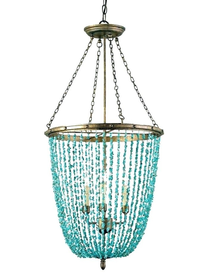 Turquoise Chandeliers Lighting – Stephenphilms (View 10 of 10)