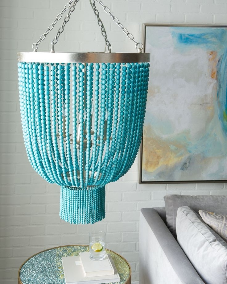 Turquoise Stone Chandelier Lighting For Best And Newest 257 Best Lighting Love Images On Pinterest (Gallery 7 of 10)