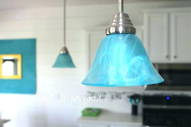 Turquoise Stone Chandelier Lighting In Most Up To Date Turquoise Chandelier Light Also Best Of Turquoise Light Fixture Or (Gallery 8 of 10)