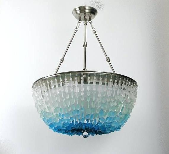 Turquoise Stone Chandelier Lighting Pertaining To Current Turquoise Chandelier Light Turquoise Chandelier Crystals Turquoise (Gallery 10 of 10)