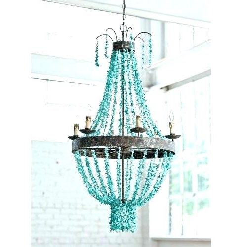 Turquoise Stone Chandelier Lighting With Well Known Turquoise Chandelier Light Turquoise Stone Chandelier Lighting (Gallery 9 of 10)