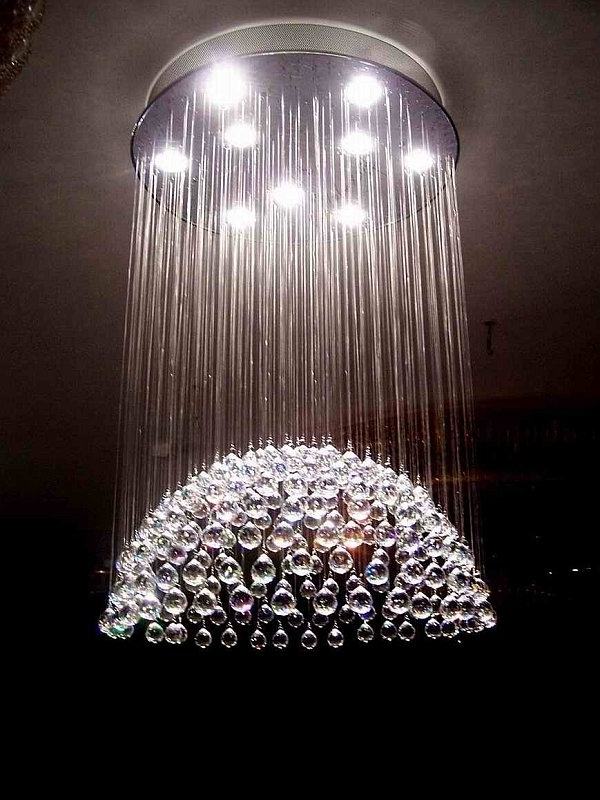 Ultra Modern Chandelier Throughout Widely Used Amazing Chandeliers Modern For Your Furniture Home Design Ideas (View 5 of 10)