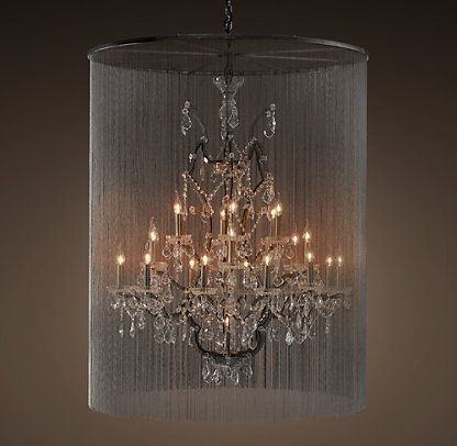 Valle Crystal Chandelier, Extra Large – Restoration Hardware With Regard To Well Known Extra Large Chandeliers (Gallery 3 of 10)
