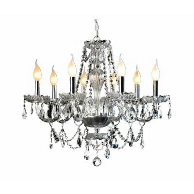 Venetian Regarding Preferred Crystal Chrome Chandeliers (Gallery 9 of 10)