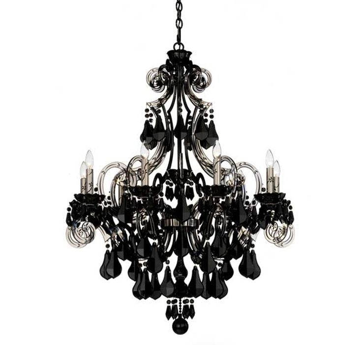 Vintage Black Chandelier Within Recent 90 Best Chandaleirs Images On Pinterest (Gallery 6 of 10)