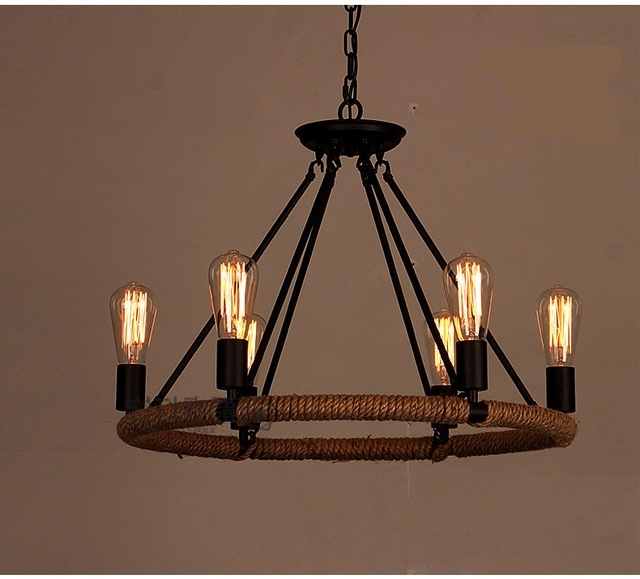 Vintage Chandelier For Best And Newest Nordic Retro Bar Lighting Coffeeshop Fashion Shop Lights Vintage (Gallery 4 of 10)
