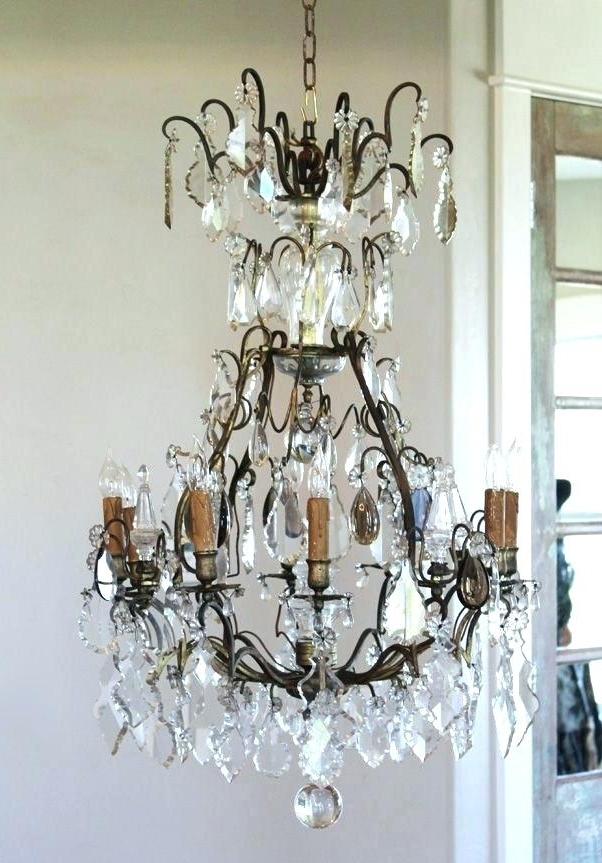 Vintage French Chandeliers Within Famous French Chandeliers For Sale Also French Chandeliers For Sale French (View 8 of 10)