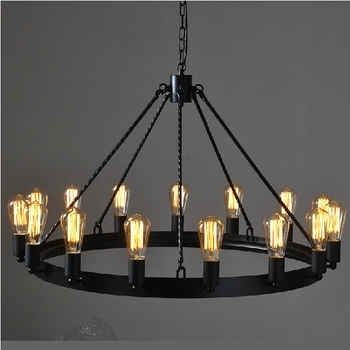Vintage Wrought Iron Candle Bulb Chandelier – Buy Candle Chandelier With Regard To 2017 Vintage Wrought Iron Chandelier (Gallery 6 of 10)