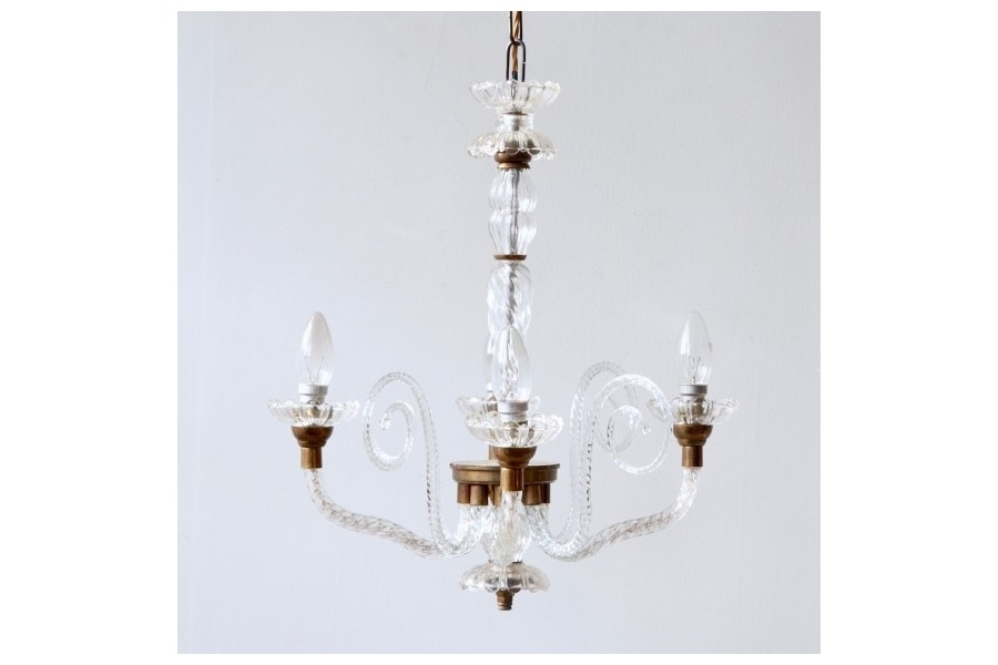 Vinterior Pertaining To French Glass Chandelier (View 10 of 10)