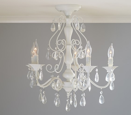 Wall Mounted Mini Chandeliers Regarding Popular Home Design : Mini Flush Mount Chandelier Flush Mount Mini (View 8 of 10)