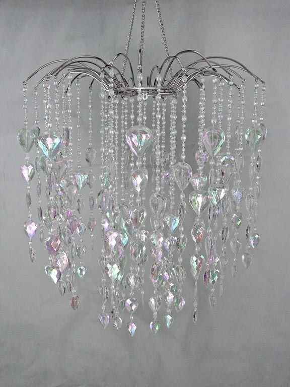 Waterfall Chandeliers In Most Popular Crystal Large Waterfall Chandelier, Wedding Decor Direct (View 8 of 10)