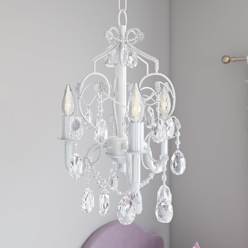 Wayfair With 3 Light Crystal Chandeliers (View 10 of 10)