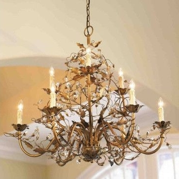 Well Known 9 Arm Grande Claire Chandelier – Traditional – Chandeliers – Ballard For Traditional Chandeliers (View 9 of 10)
