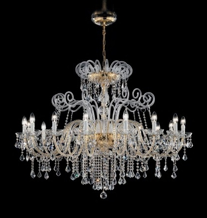 Well Known Antique Style Chandeliers With Regard To Antique Style Chandeliers – Murano (View 10 of 10)
