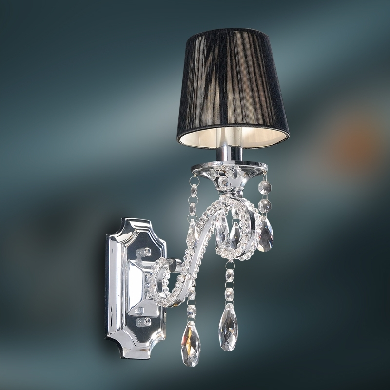 Well Known Bathroom Chandelier Wall Lights Intended For Chandelier Wall Sconce (View 9 of 10)