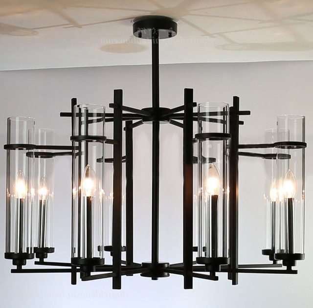 Well Known Best Of Modern Chandelier Black With Chandelier Inspiring Black In Black Contemporary Chandelier (View 9 of 10)