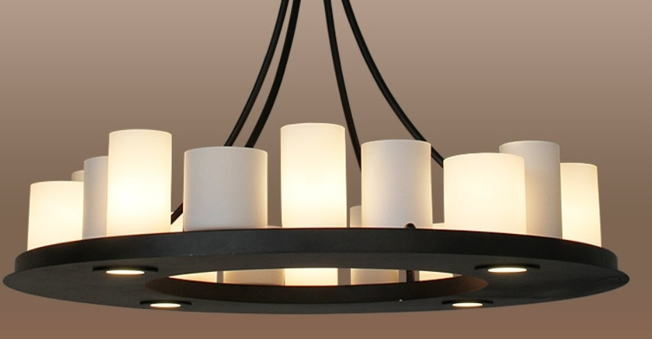 Well Known Candle Light Chandelier For Candle Chandeliers Chandelier Amazing Round Candle Chandelier Rustic (View 5 of 10)
