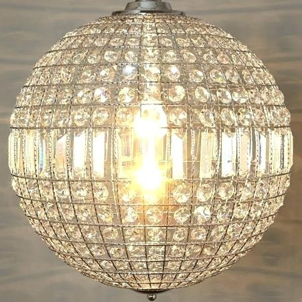 Well Known Chandeliers ~ Eloquence Globe Chandelier Marney Glass Chandelier Inside Eloquence Globe Chandelier (View 2 of 10)