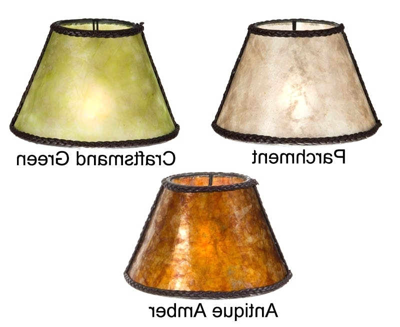 Featured Photo of Clip On Chandelier Lamp Shades